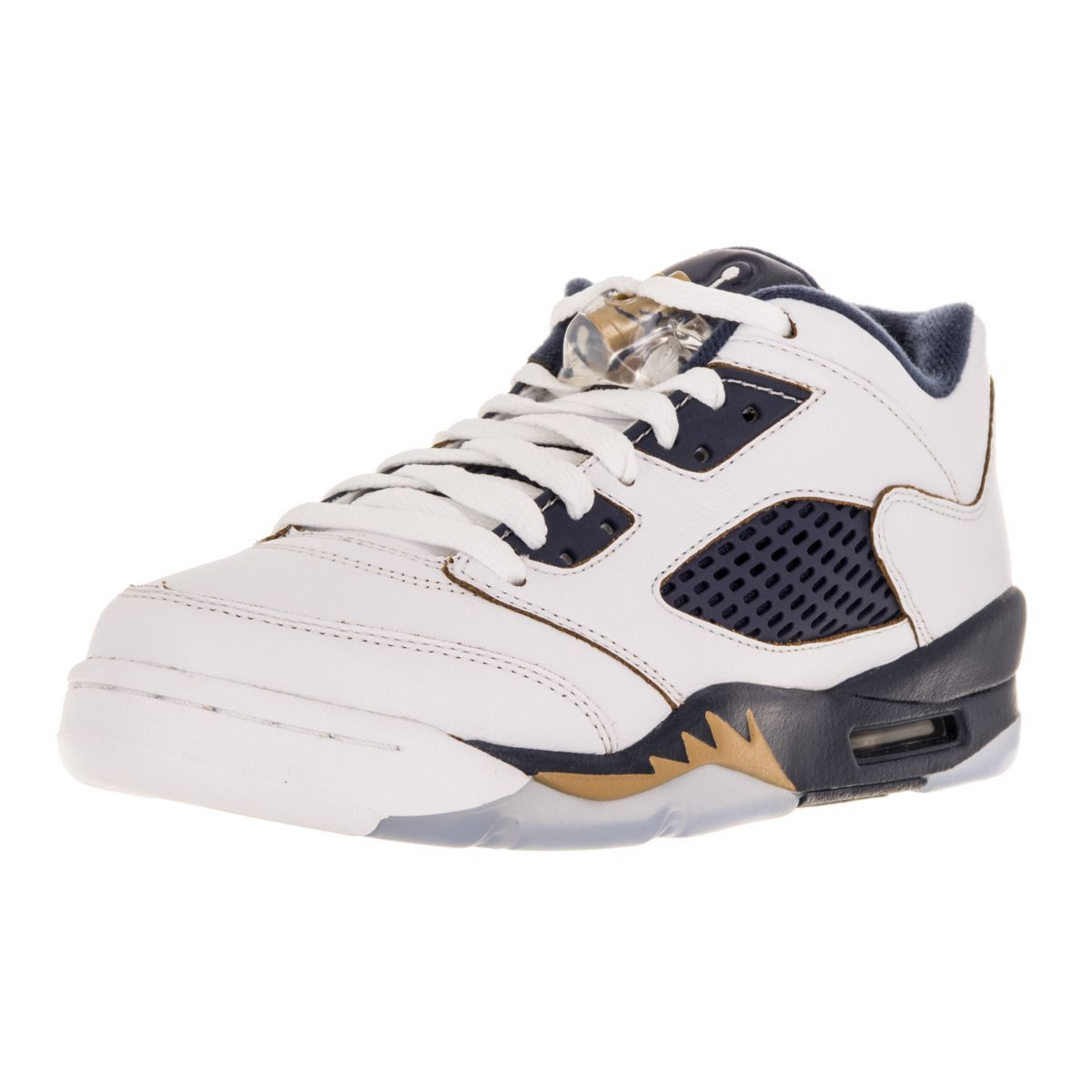 Nike Jordan Kid S Air Jordan 5 Retro Low Gs White