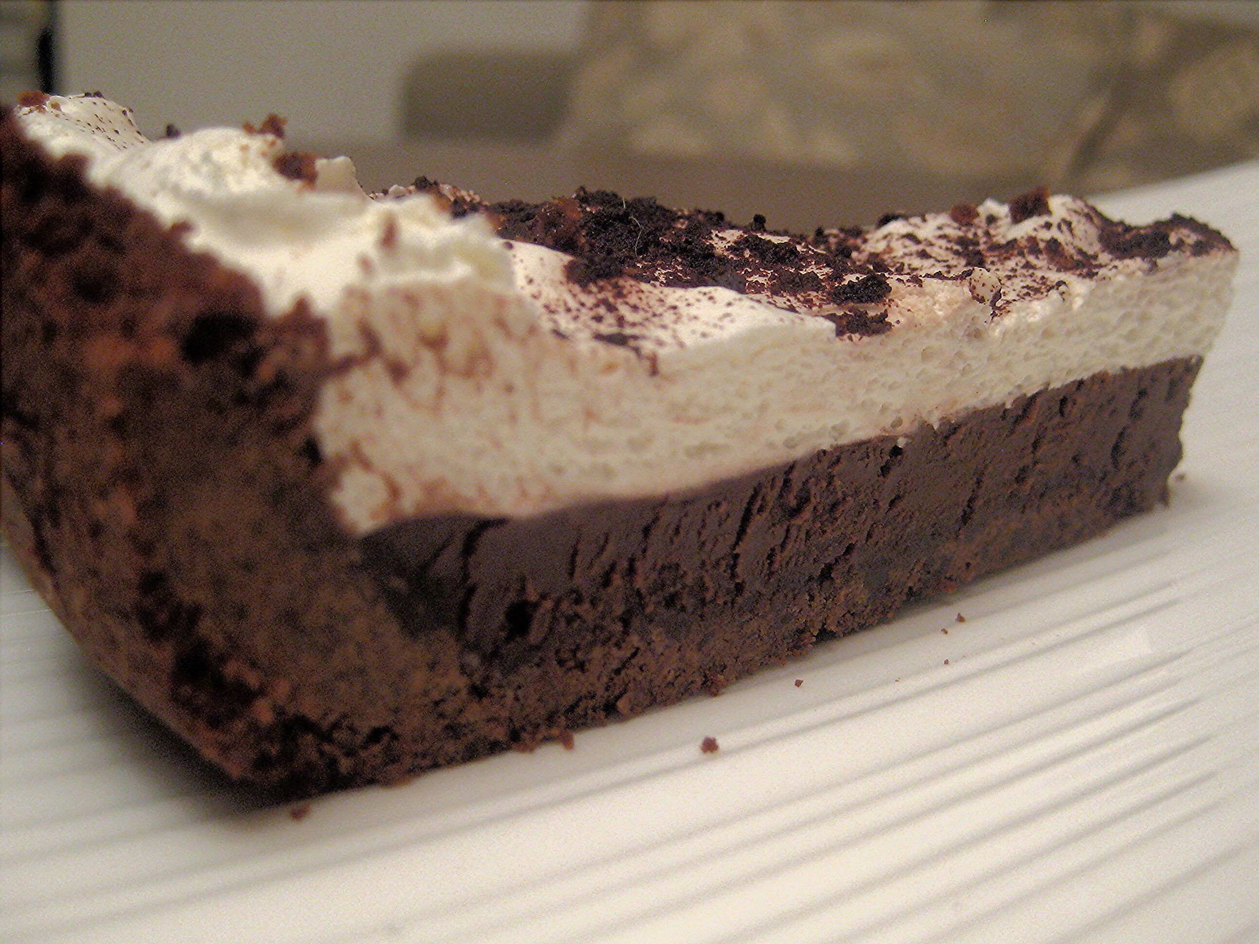 Chocolate mousse pie | Make ALL The Food! | Pinterest