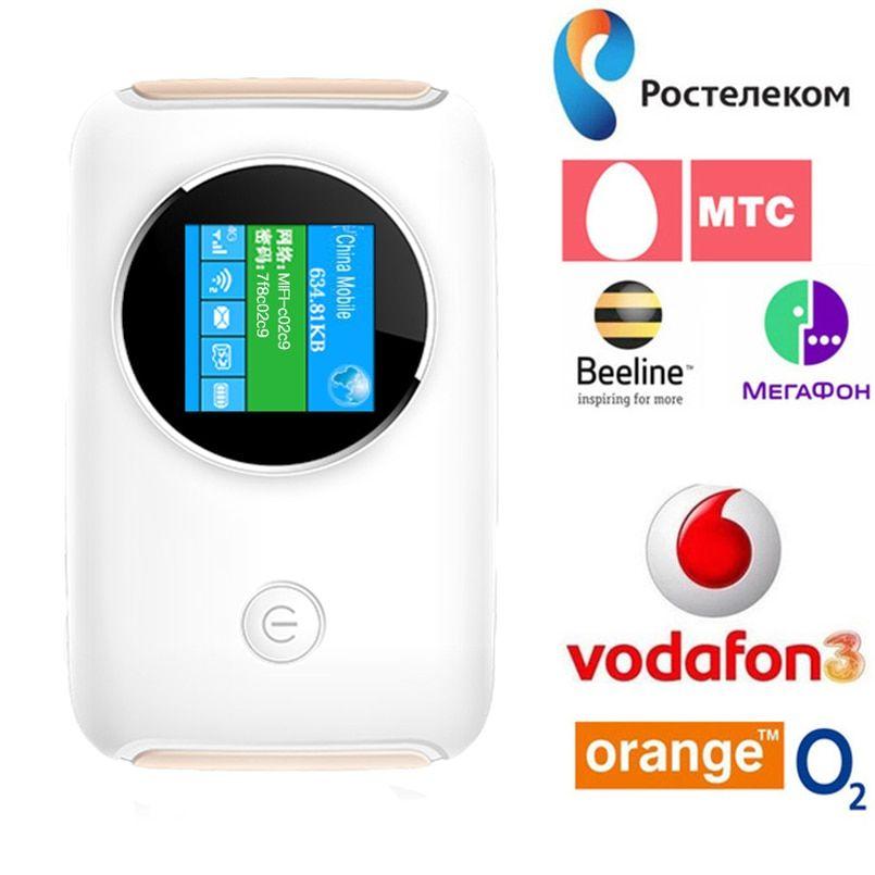 4G Lte Pocket Wifi Router Car Mobile Hotspot Mifi Unlocked