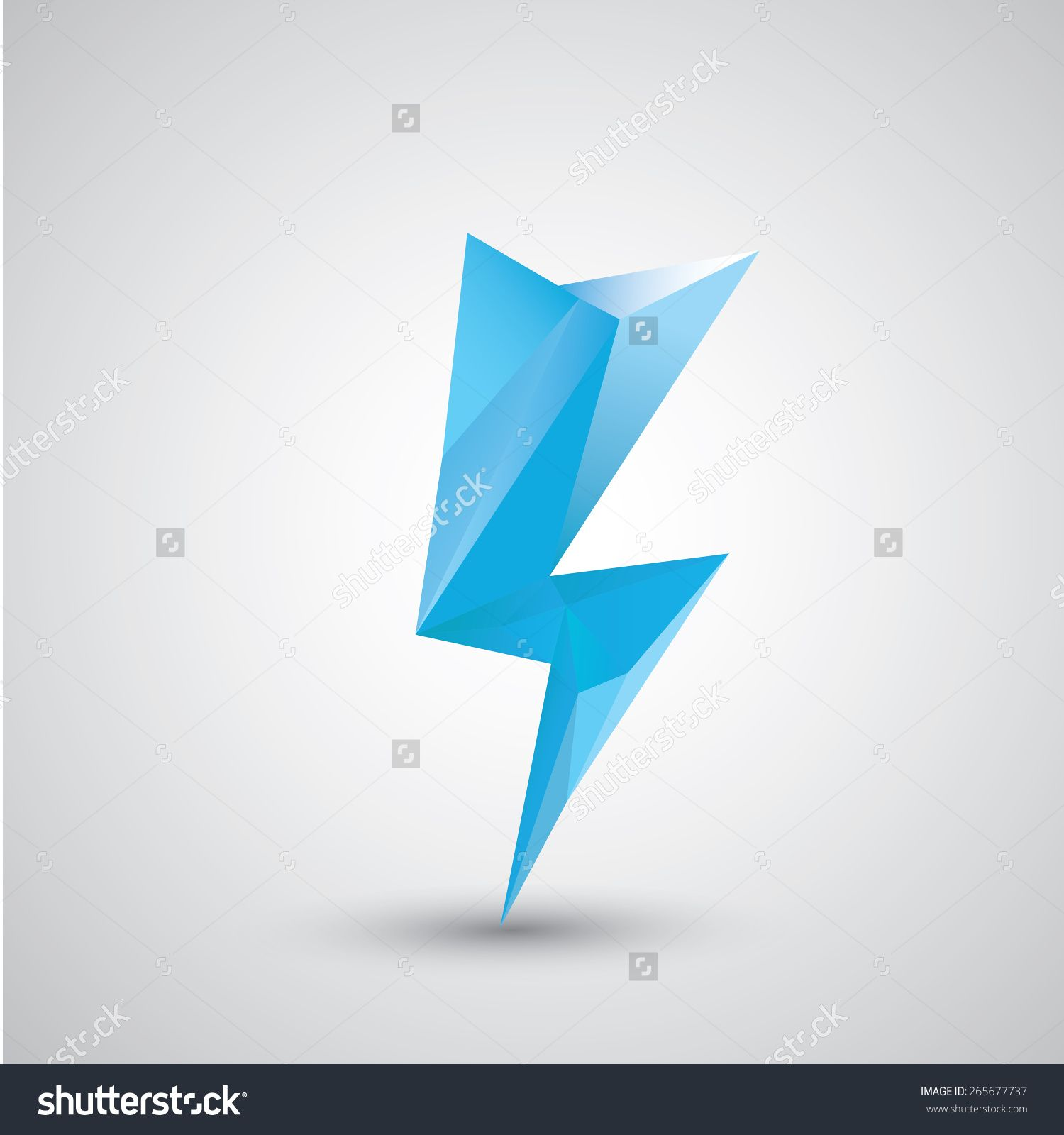 lightning bolt geometric - Google Search | Tattoo Ideas ... for Vector Lighting Bolt  589hul