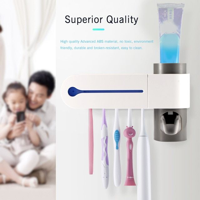 2018 hot dental uv ultraviolet toothbrush sanitizer on disinfectant spray wall holders id=65445