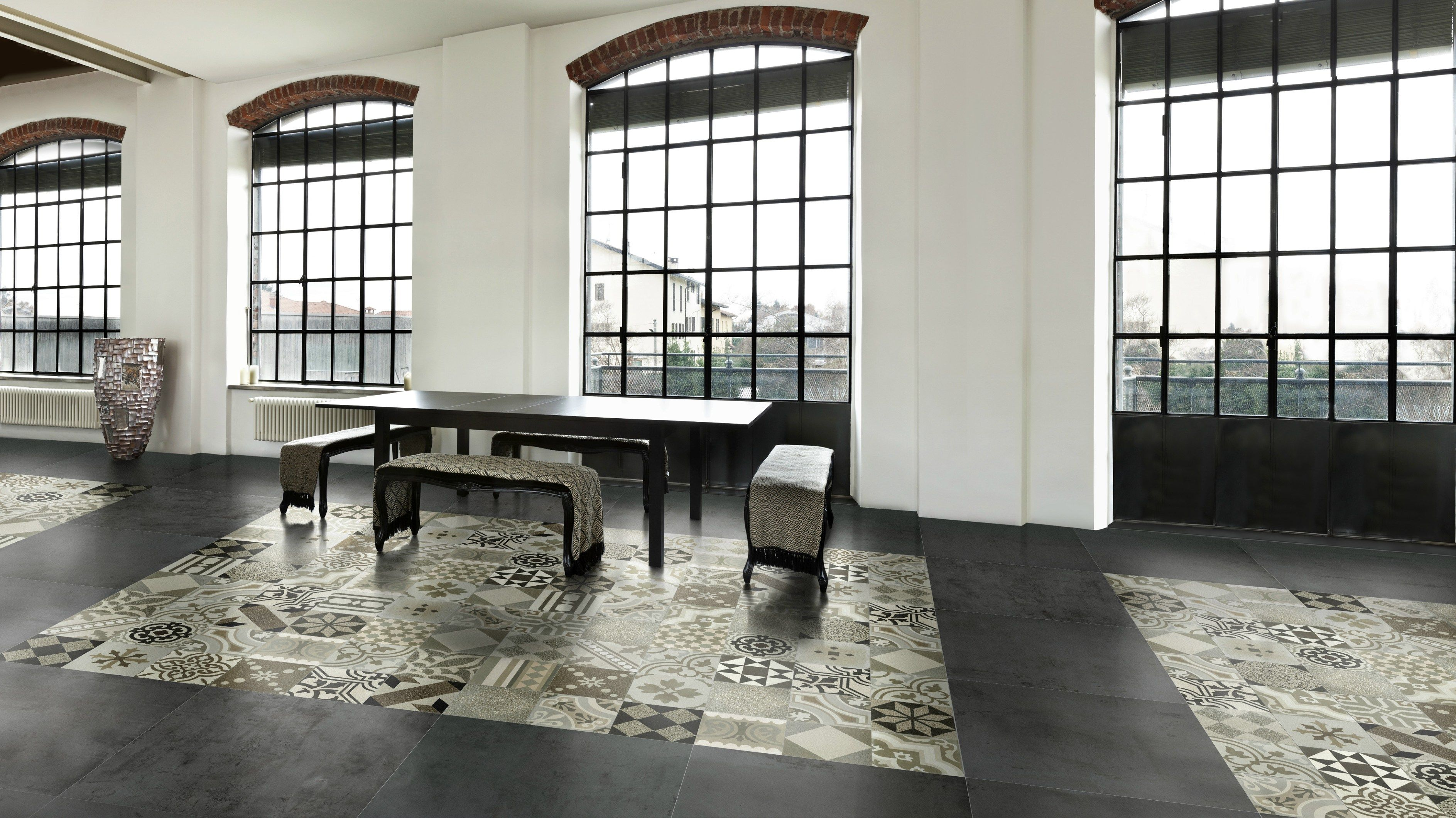Porcelain floor tiles for indoors and outdoors caf cement by porcelain floor tiles for indoors and outdoors caf cement by grestec tiles dailygadgetfo Gallery