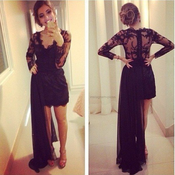 Black Graduation Dresses Tumblr images | Black L over | Pinterest ...