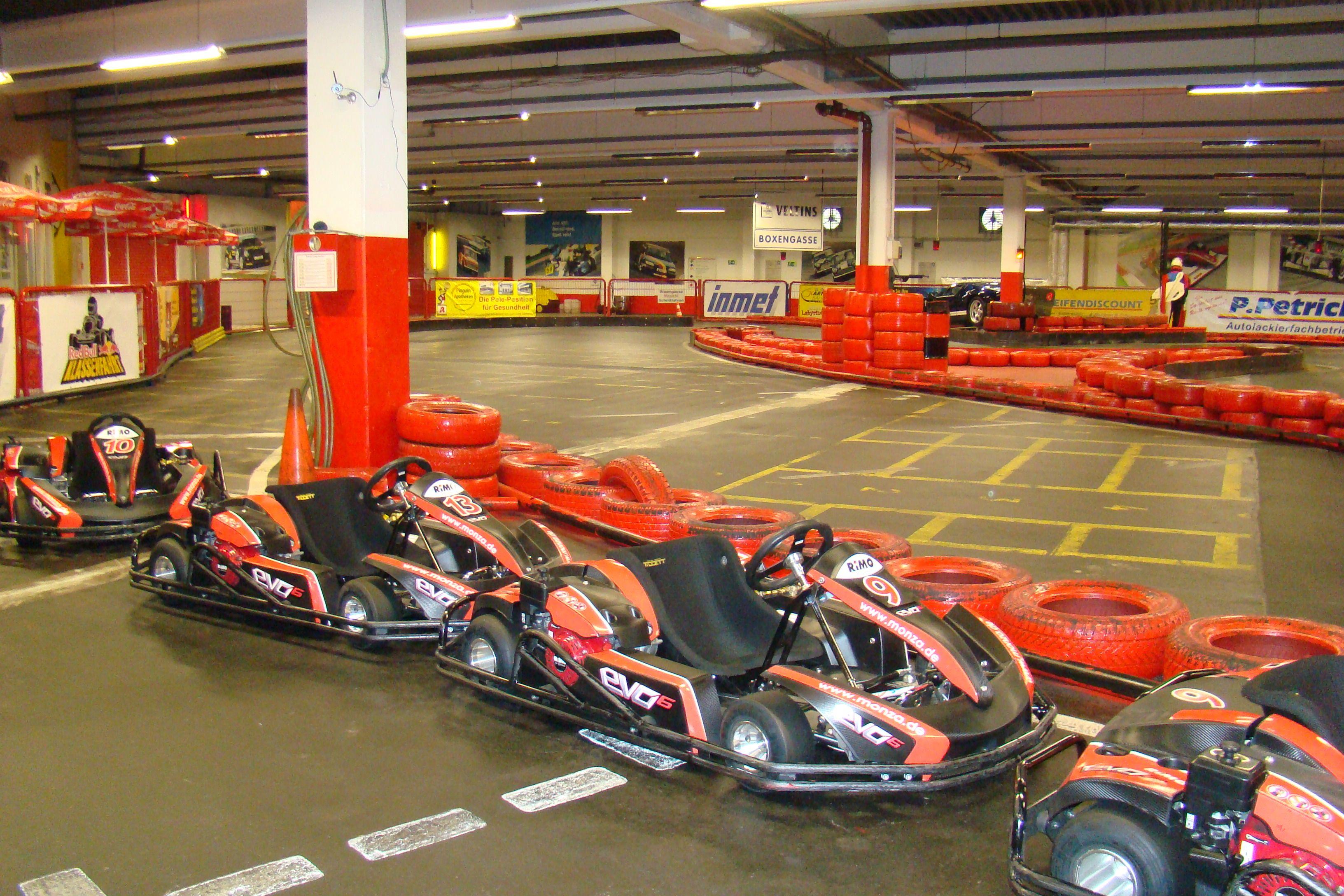 Karts Der Kartbahn Monza In Herne