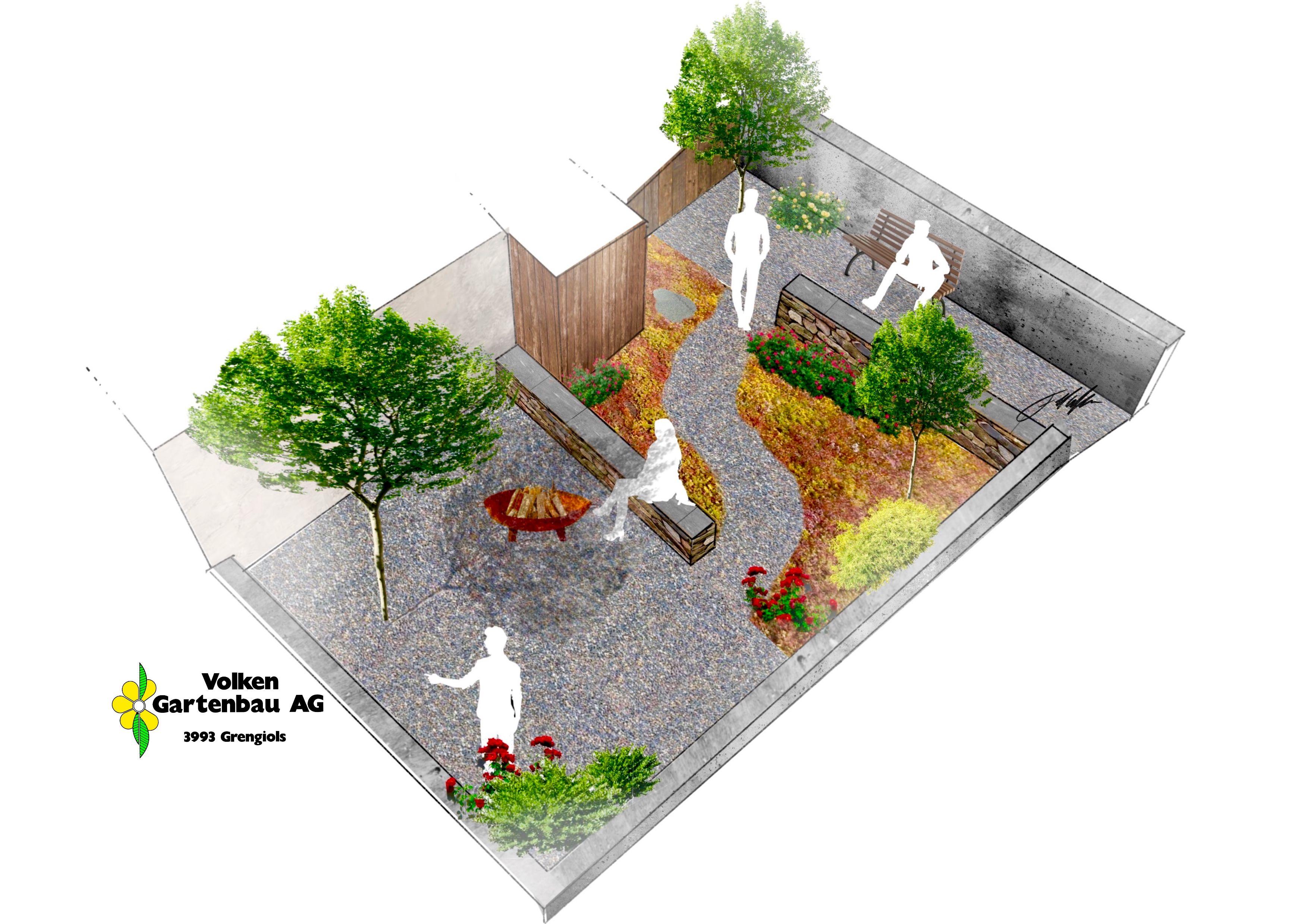 Kreatives Gartendesign Im Raum Oberwallis Garten Design Gartenbau Garten