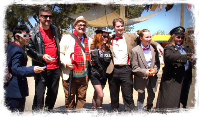 Dr. Who Costumes - Doctor Who - Keep Calm and Craft On: A Peak at 2015 The Original Renaissance Pleasure Fair Time Traveler Weekend Event Steampunk Costumes #costumes  #renfaire #renaissancefaire #drwho  #doctorwho