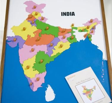 India Map Puzzle.Gnaana India Map Puzzle Hindi And Languages Other Than English