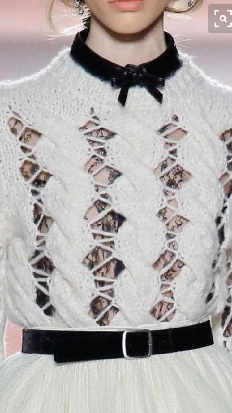 Pin de Barbara en robótki na drutach | Pinterest | Moda de invierno ...