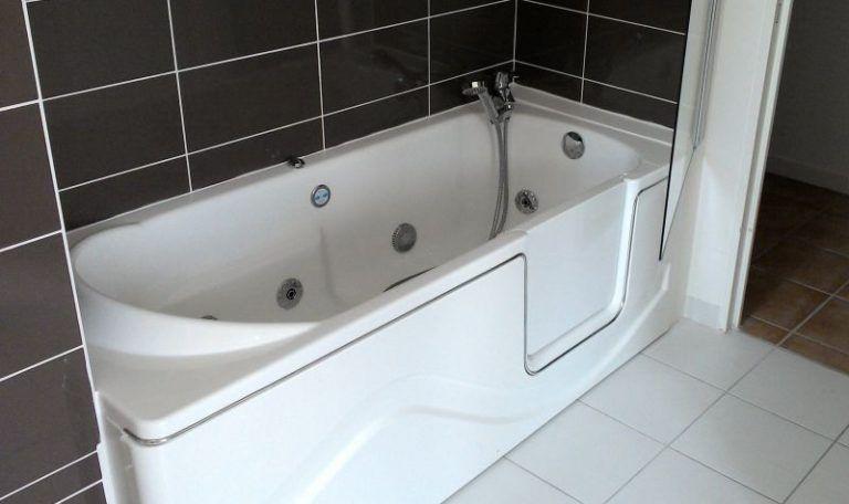 porte cool prix baignoire d angle photo