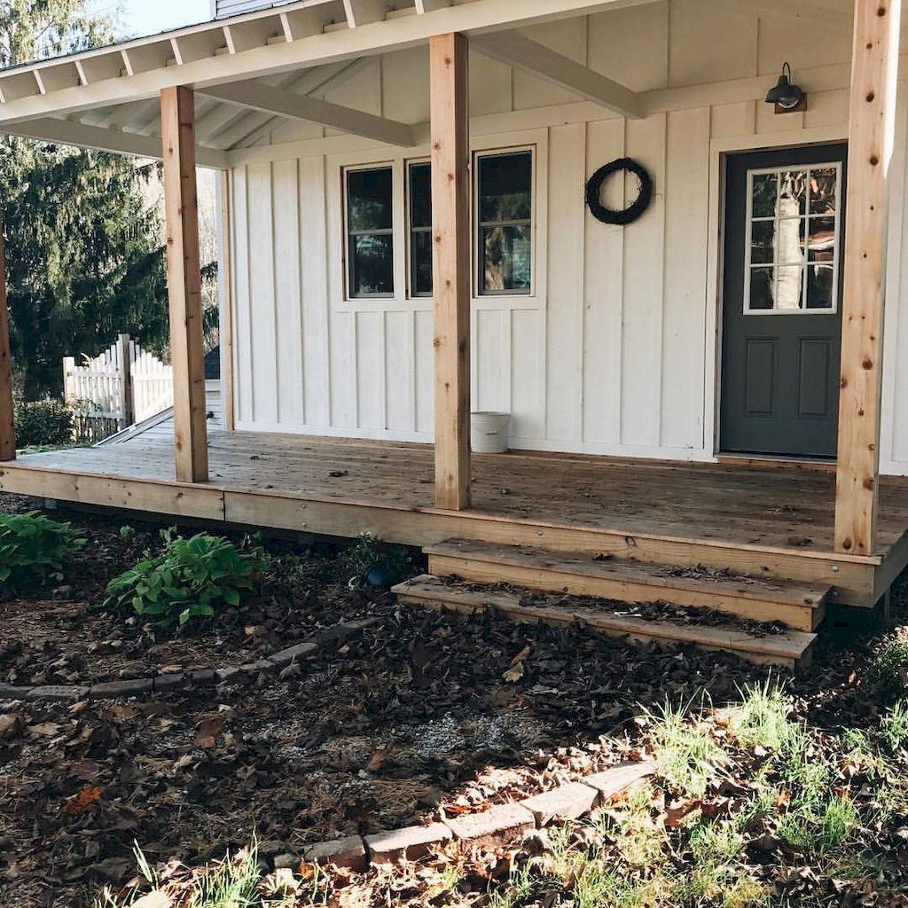 80 Amazing Farmhouse Front Porch Decor Ideas