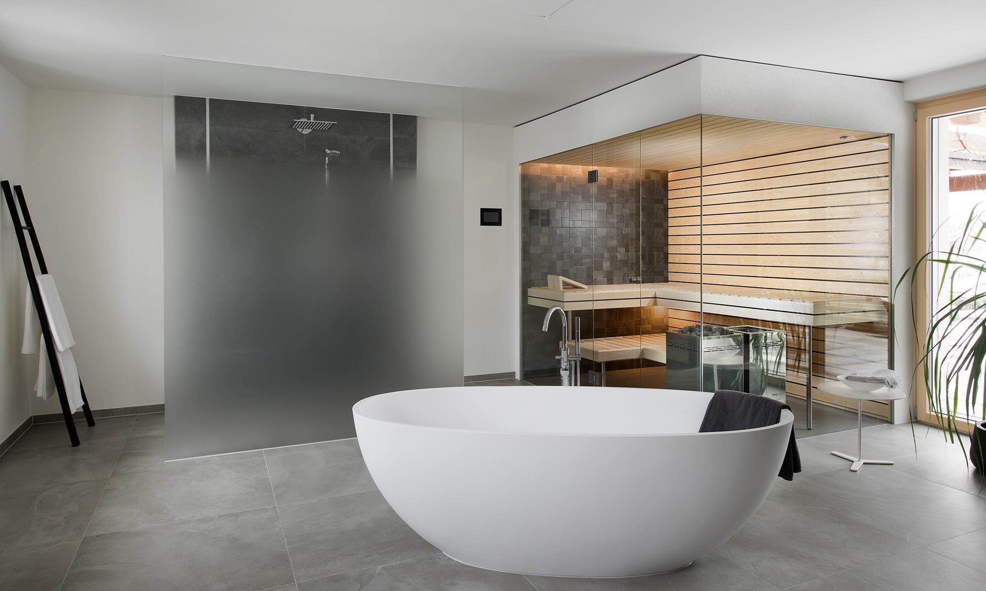 Kung Sauna Spa Ag Verwandelten Das Alte Bad In Eine Wellness Oase Mit Sauna Fur Die Ganze Familie Badezimmer Dekor Wellness Oase