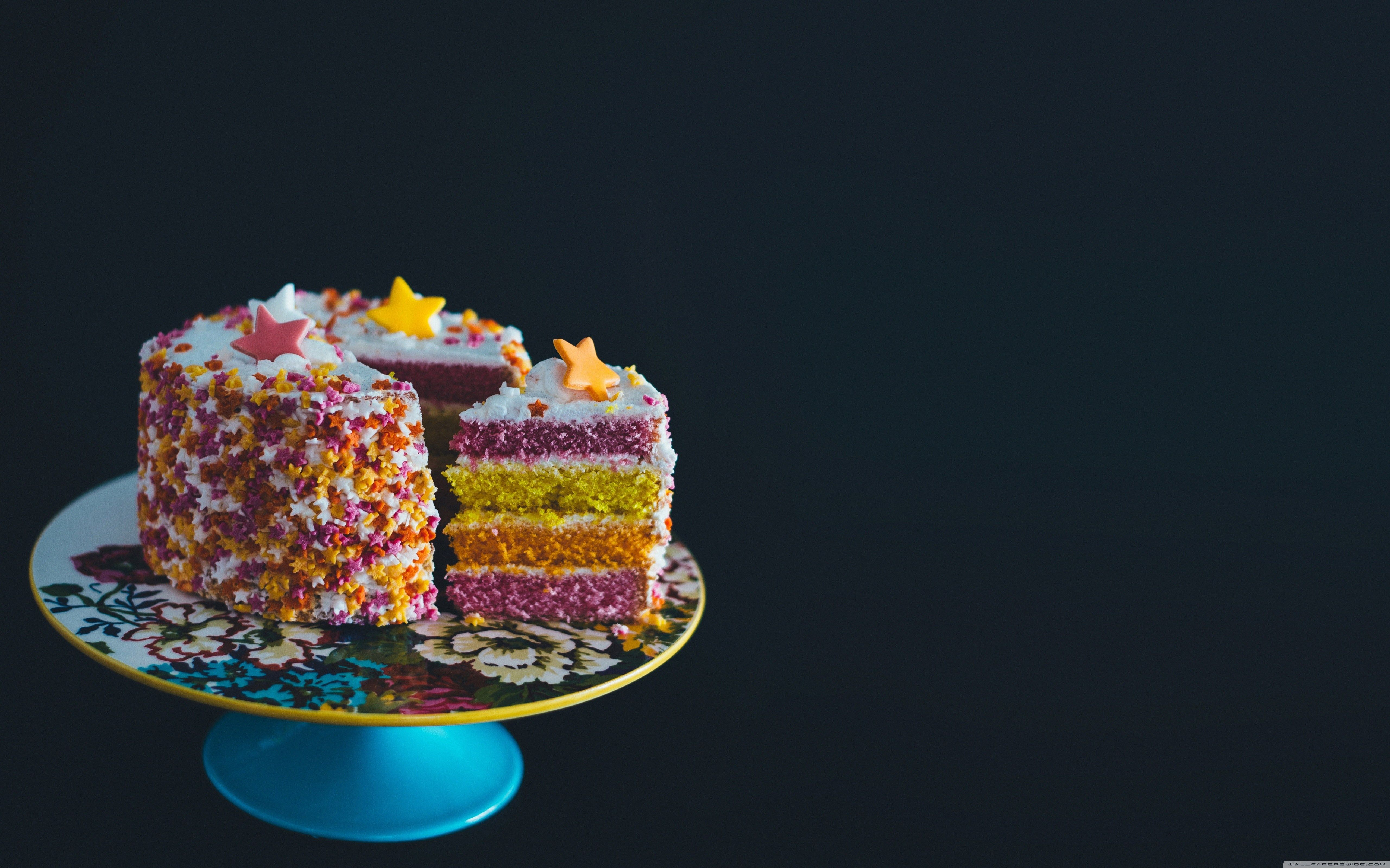 Birthday Cake Hd Wallpaper Colorful Birthday Cake 4k Hd Desktop Wallpaper For Wide Ultra Birthday Cake With Photo Colorful Birthday Cake Cake Wallpaper