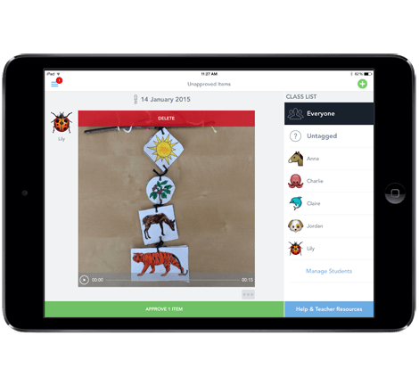 Seesaw Journal A Tool for English Language Learners The
