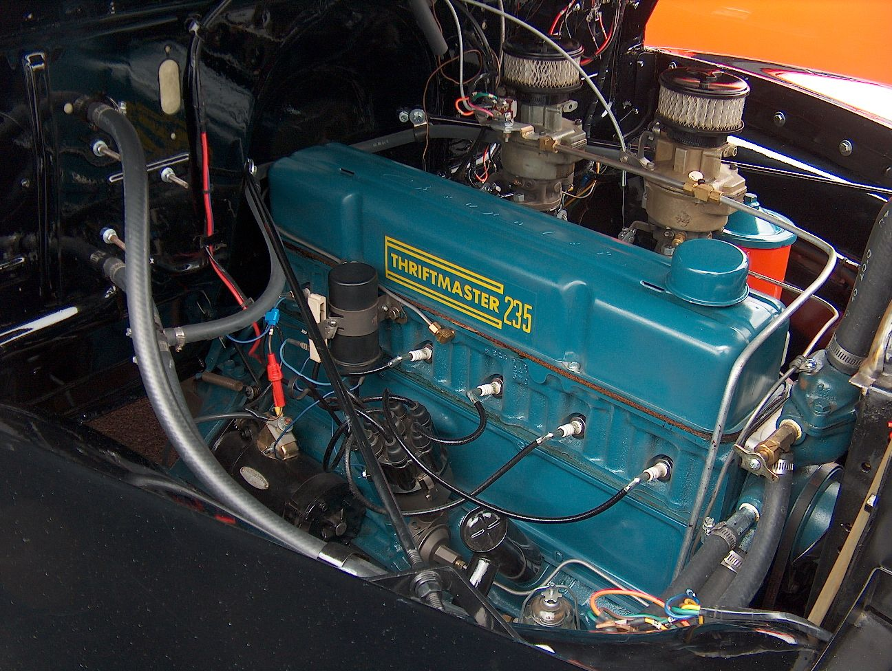 small resolution of dual carbed 235 thriftmaster chevy 6 57 chevy trucks chevy c10
