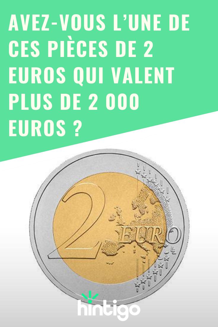 Avez Vous L Une De Ces Pieces De 2 Euros Qui Valent Plus De 2 000 Euros En 2020 Gagner De L Argent Faire Son Budget Finances Personnelles