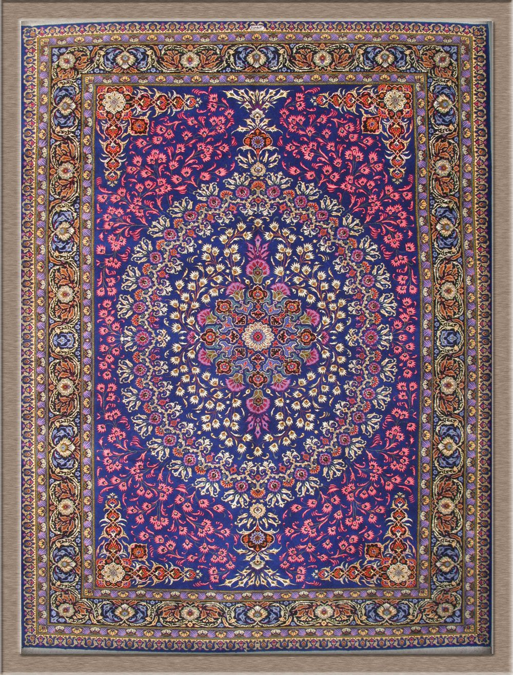 Kashan Persian Rug Home Decor