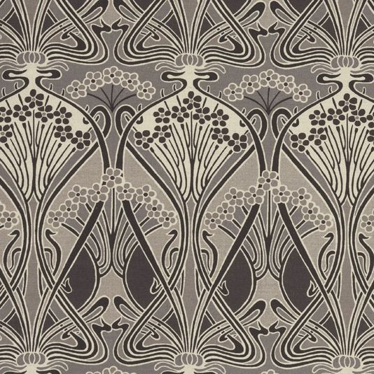 Ianthe flower fabric a timeless fabric design originally created by well known french art nouveau