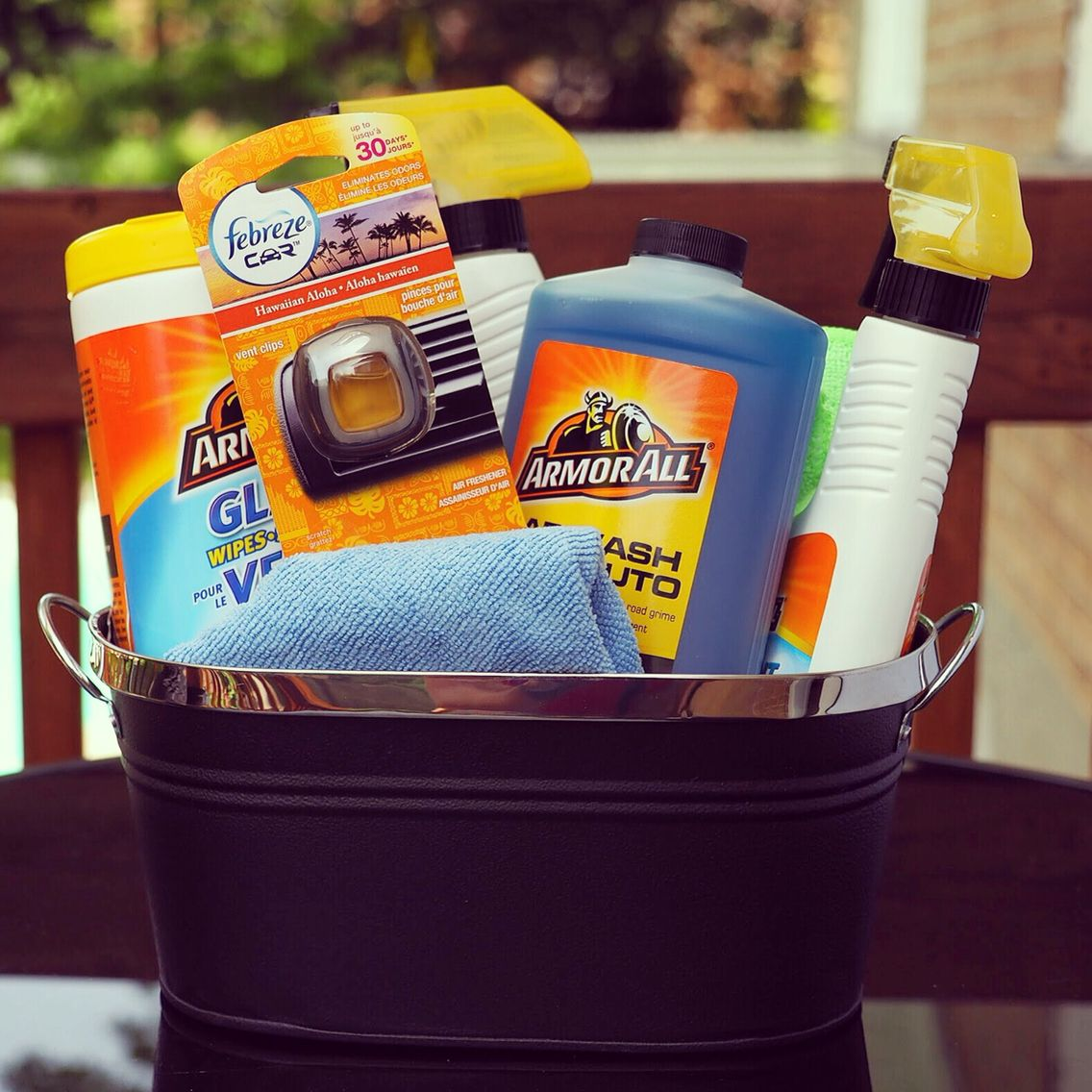 Car wash gift basket fathers day gift basket ideas
