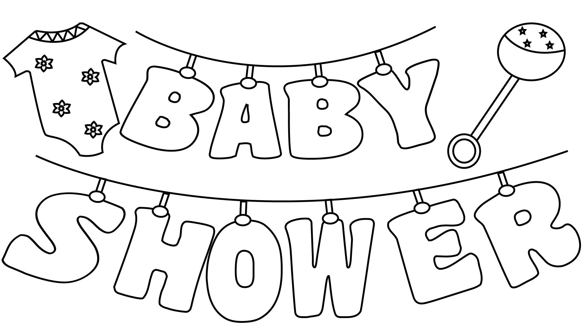 Baby Shower Coloring Pages Free Baby Shower Printables Baby Coloring Pages Baby Shower Printables