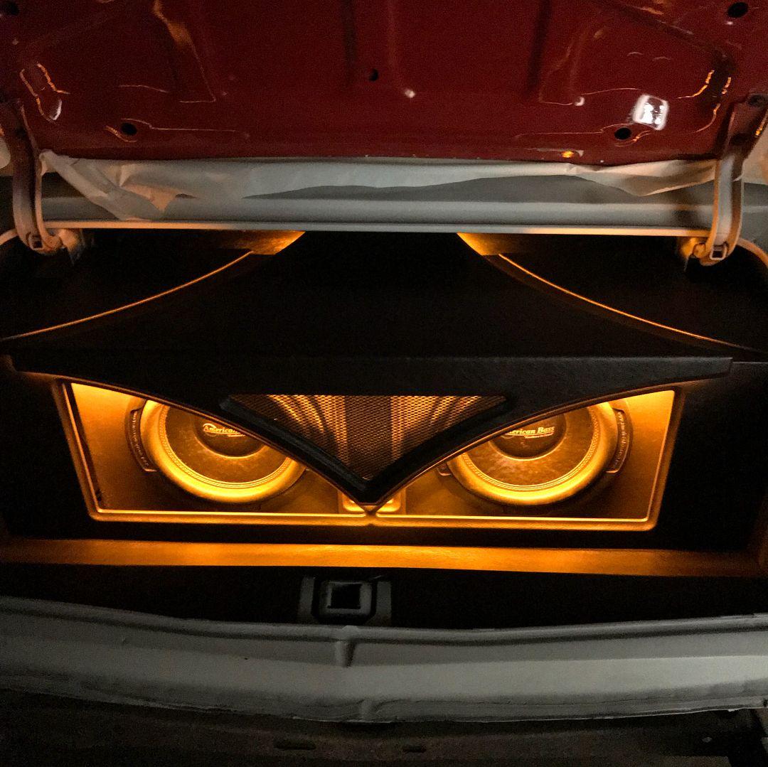 1996 impala trunk car audio plexiglass custom trunk | Car ... |Stormtrooper Car Audio Custom Trunk Install