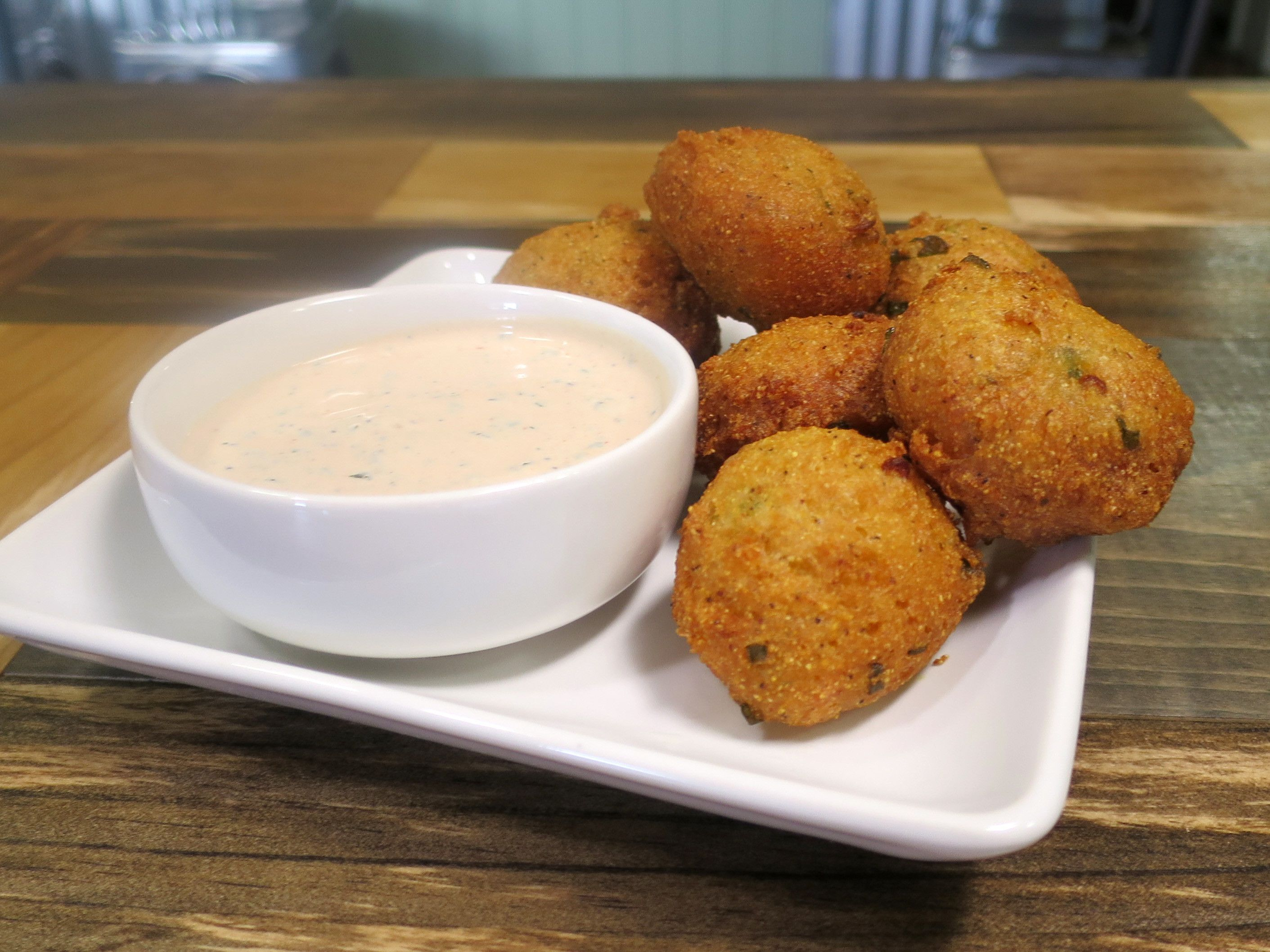 Hush Puppies Recipe Baked Hush Puppies Food Network Recipes Food