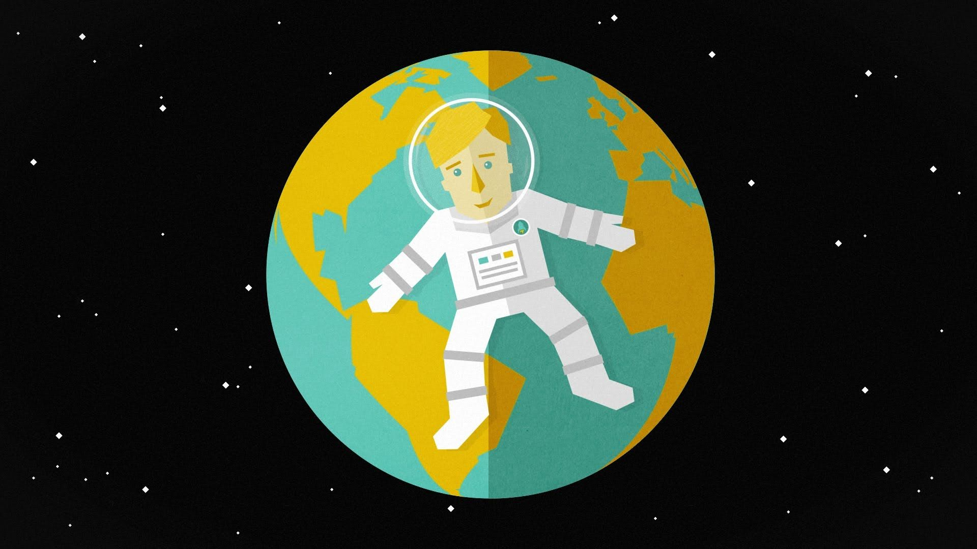 The basic forces acting on an astronaut and why you ...