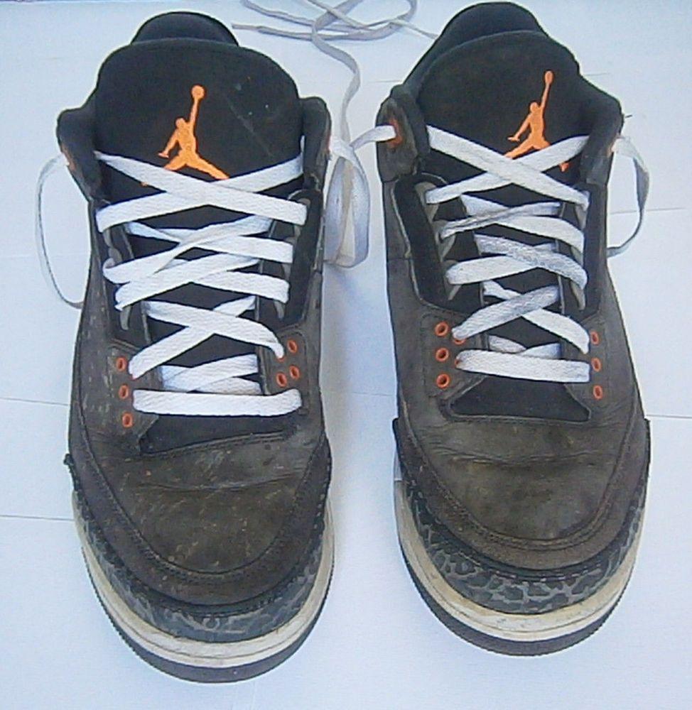 f10d9e4d9c41 Nike Air Retro Jordan 3 III Fear Pack Size 10 M Black Orange 626967 040  Men s  fashion  clothing  shoes  accessories  mensshoes  athleticshoes  (ebay link)
