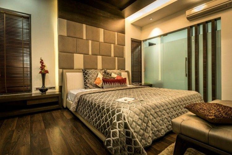 Entzuckend Wandgestaltung Schlafzimmer Modern