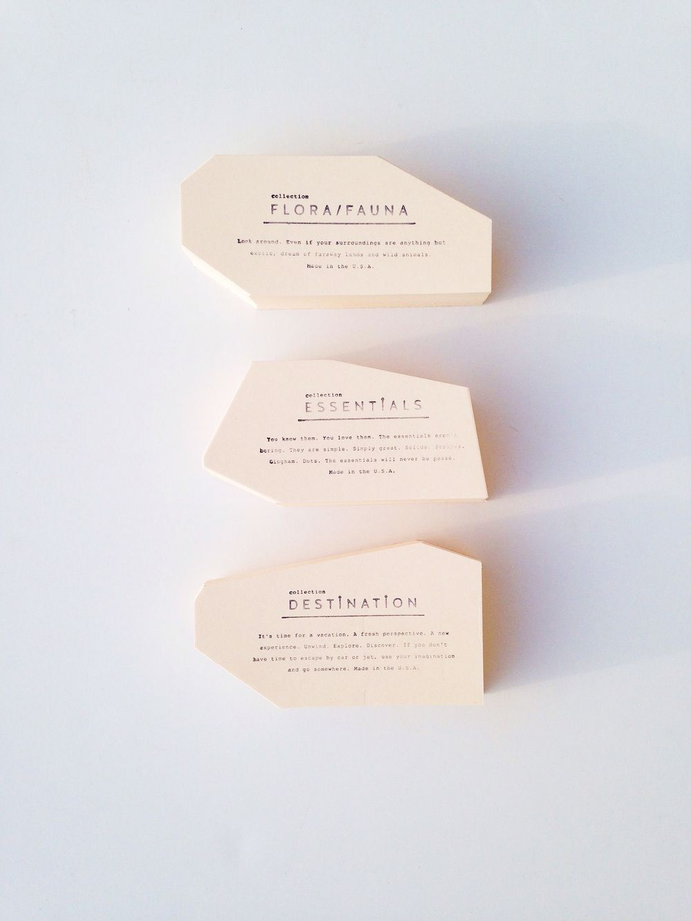 Love these non traditional business card shapes | down to bidness ...