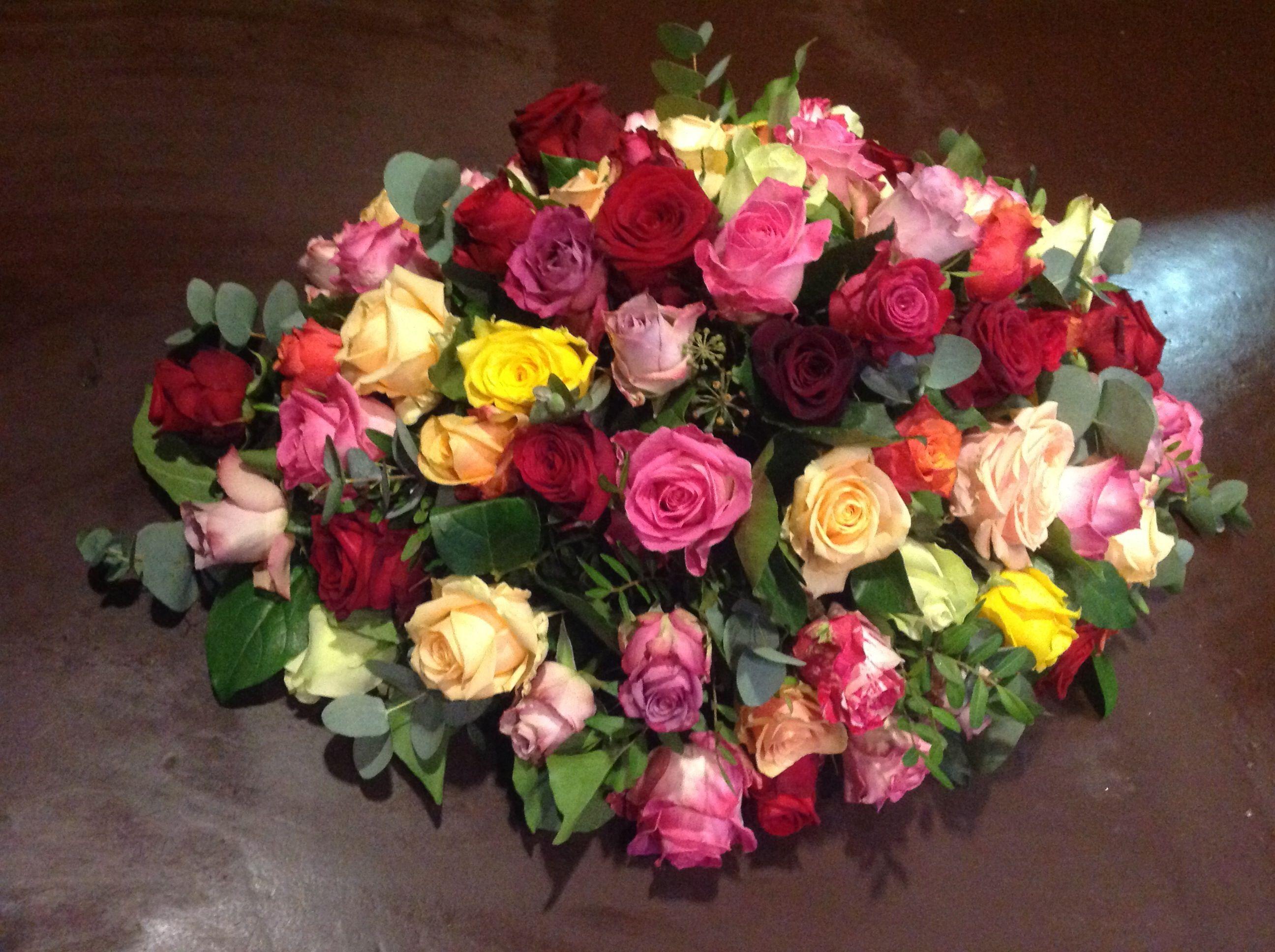 Gemixte rozen.