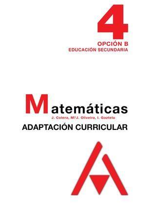 4 matematicas 4º eso solucionario libro del profesor editorial anaya ...