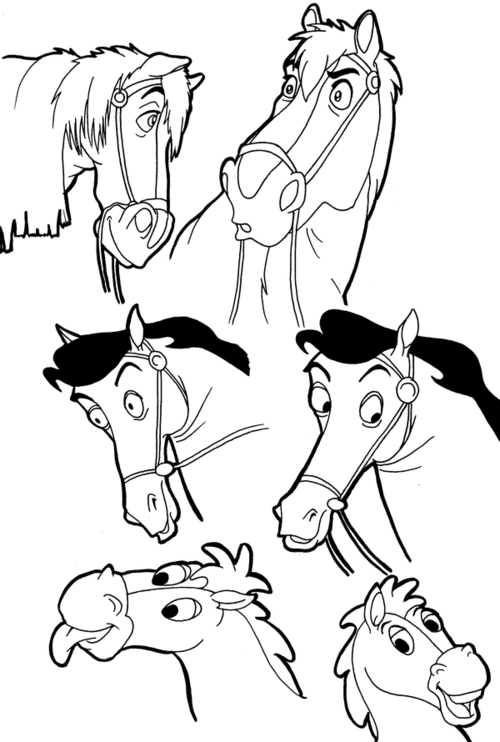 Disney Horses Of Courses Disney Horses Horse Coloring Pages Horse Cartoon