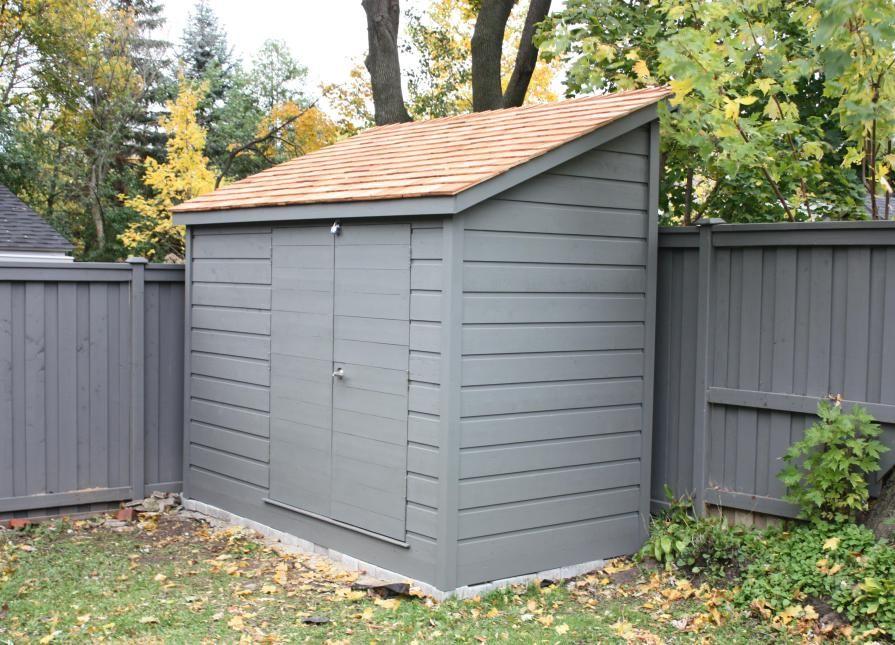 5 x 10 sarawak garden shed in toronto ontario 182416 in