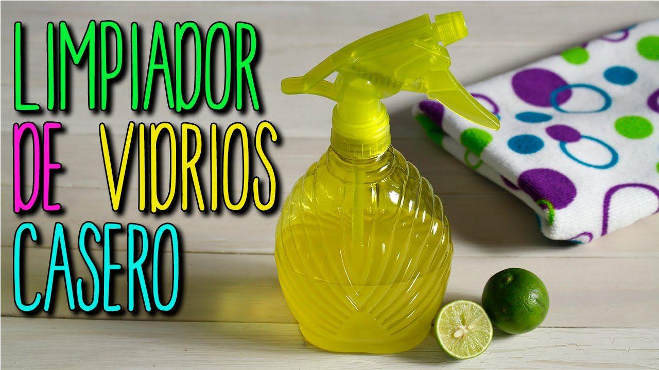 C Mo Hacer Limpiador De Vidrios Casero De Lim N Limpieza Hogar  ~ Limpieza De Ventanas Y Cristales