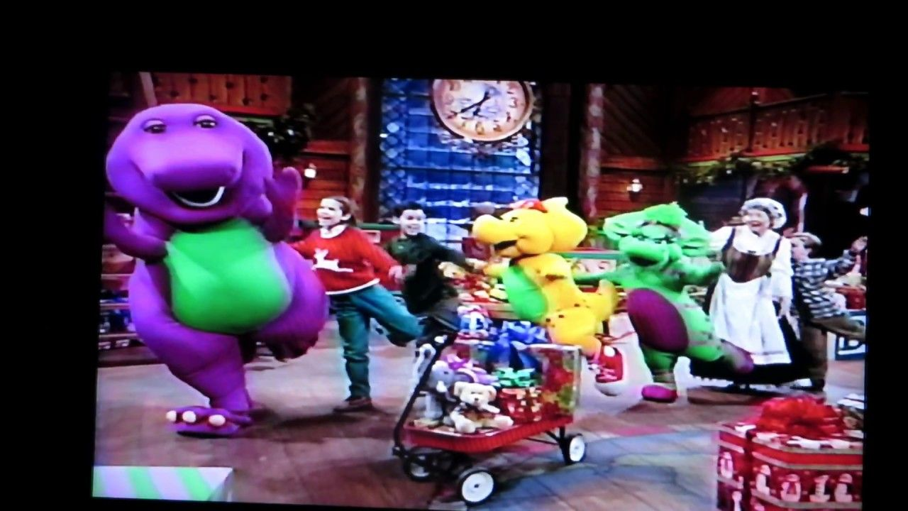 Part Seven, Barney\'s Night Before Christmas, 1999 | Barney Home ...