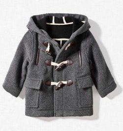 HOODED-DUFFLE-COAT-Coats-and-Jackets-Baby-boy-3-36-months-Kids ...