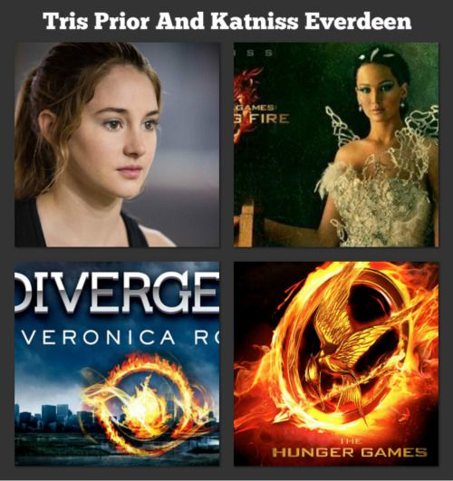 DO YOU  THAT BOTH KATNISS AND TRIS HAVE SOMETHING IN COMMON.