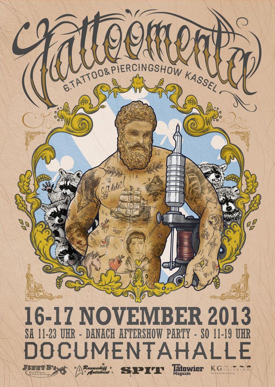 Tattoomenta Kassel Convention November 2019 Germany Kassel Party November