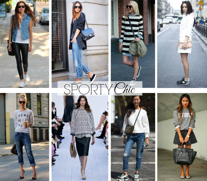 Trend Talk: Sporty Chic | if i went shopping. | Sporty chic
