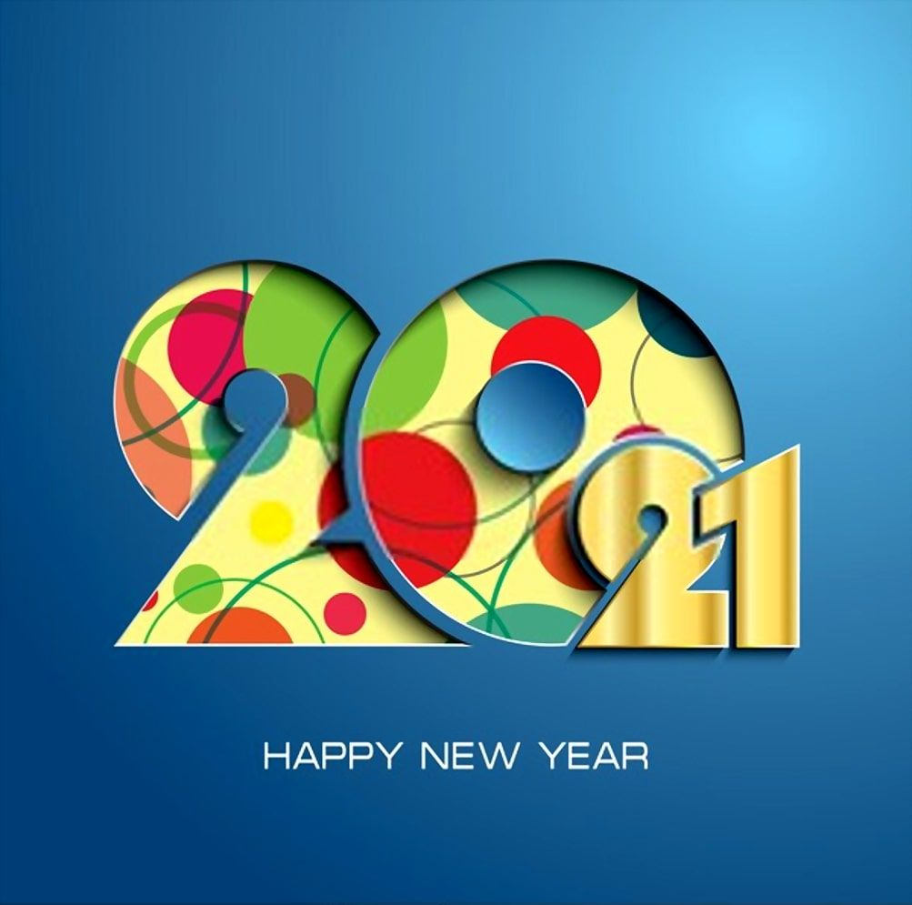 2021 Happy New Year Images Wallpaper Happy New Year Wallpaper Happy New Year Images New Year Wallpaper New year 2021 orange hd background