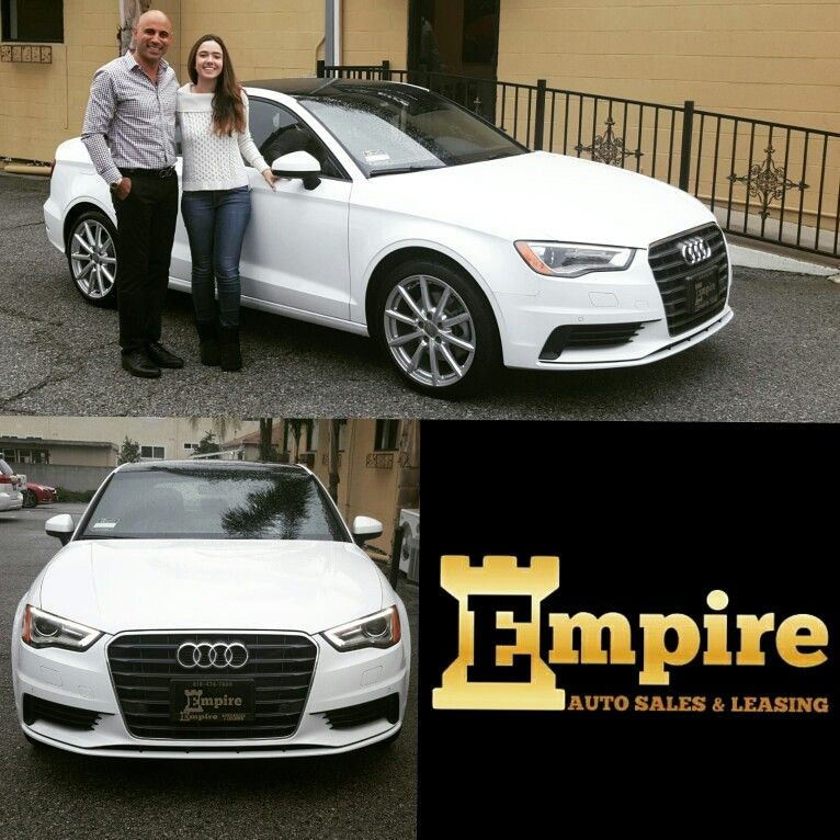 congratulations emily on your brand new audi a3 enjoy your beautiful car and welcome to