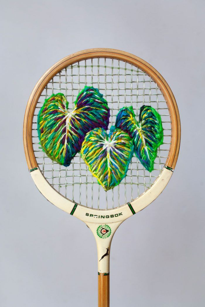 Wimbledon Week - The Art of Tennis | Embroidery | Pinterest ...