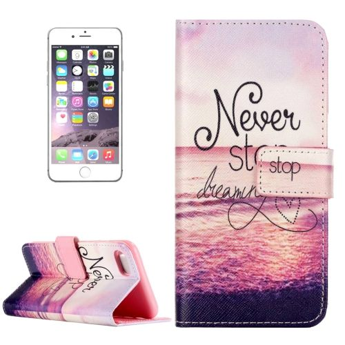 never stop dreaming iphone 8 plus case