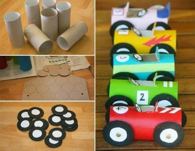 Salvadanaio Con Rotoli Di Carta Igienica Giochini Per Bambini