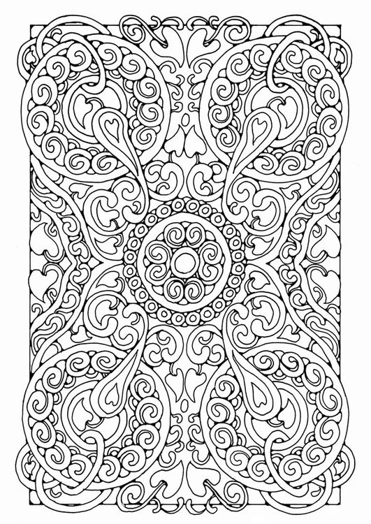 Mandala coloring page for adults | mandala | Pinterest | Mandalas ...