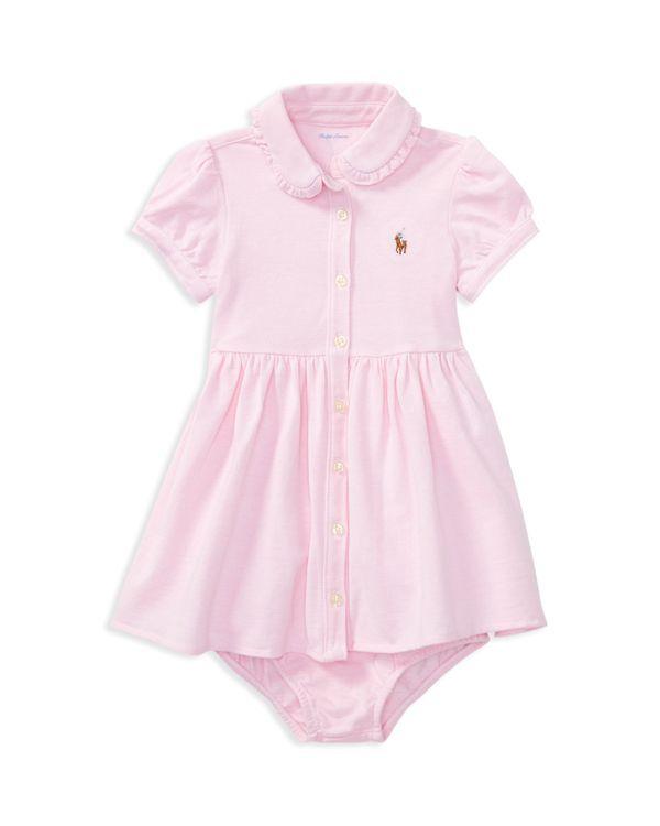 852ac8e0 Ralph Lauren Childrenswear Girls' Oxford Dress & Bloomers Set - Baby ...