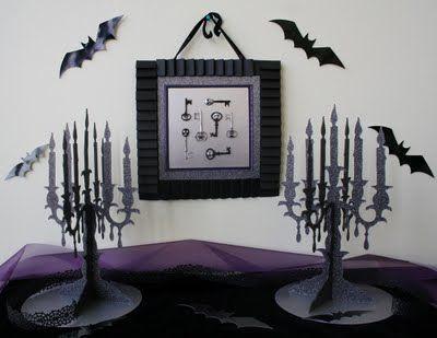 halloween decor Oh My Crafts Blog Halloween Décor Table Display