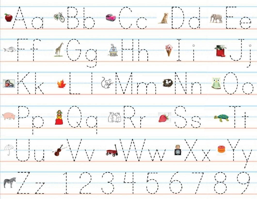 Practise Writing Letters Worksheet