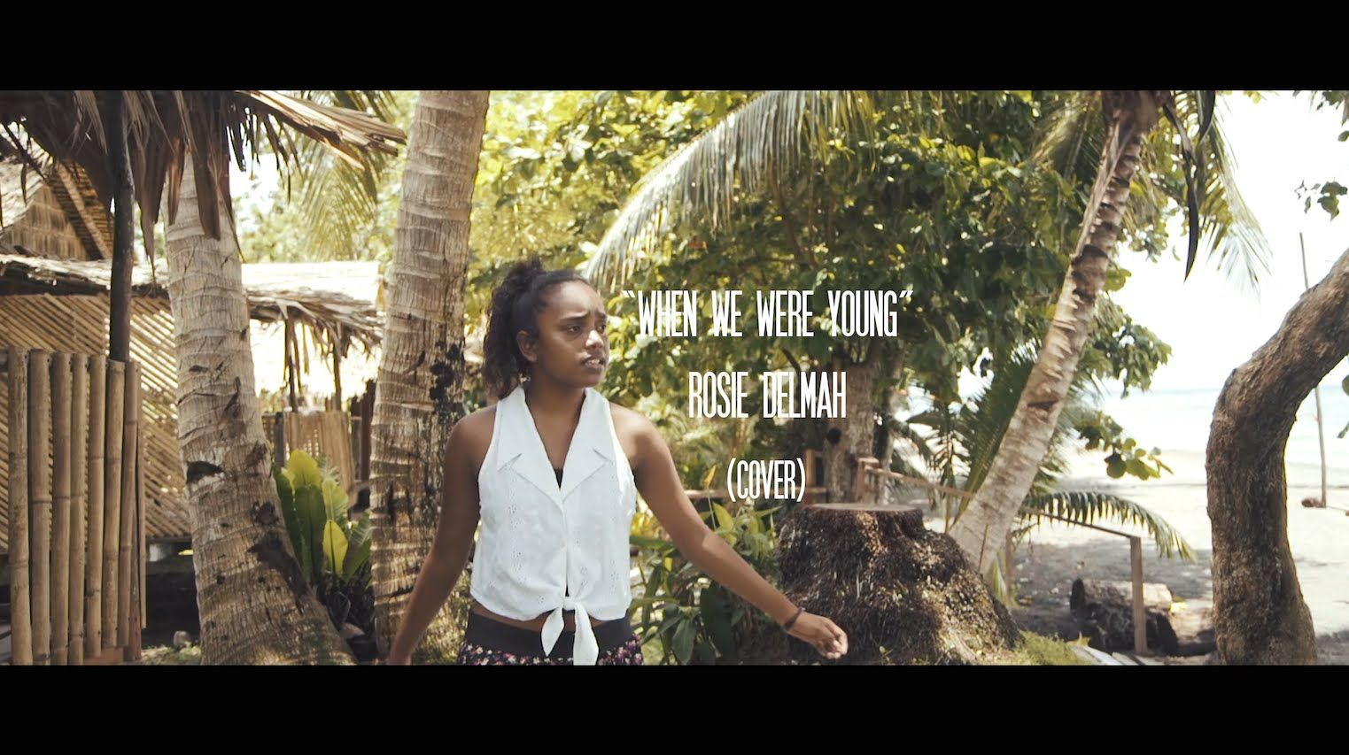 Adele When We Were Young Rosie Delmah Cover Reggae Style