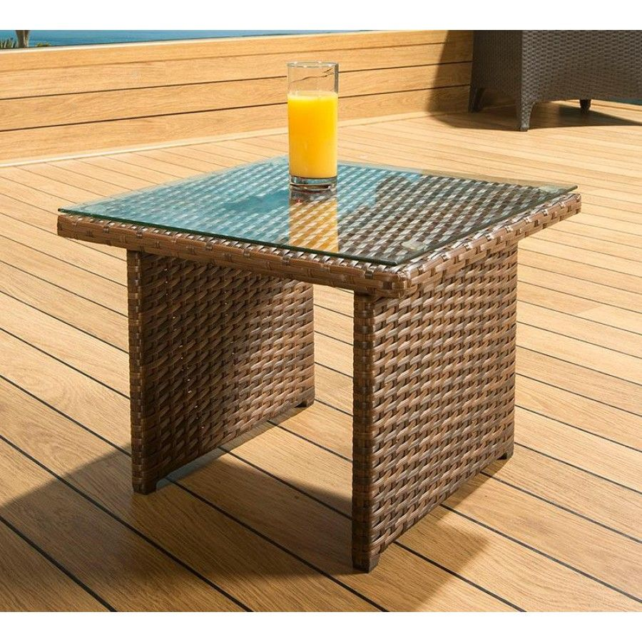 This small end table is an ideal accessory to our loungers, sunbeds ...